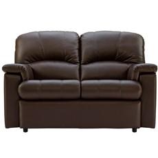 G Plan Chloe Leather 2 Seater Sofa