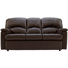 G Plan Chloe Leather 3 Seater Sofa