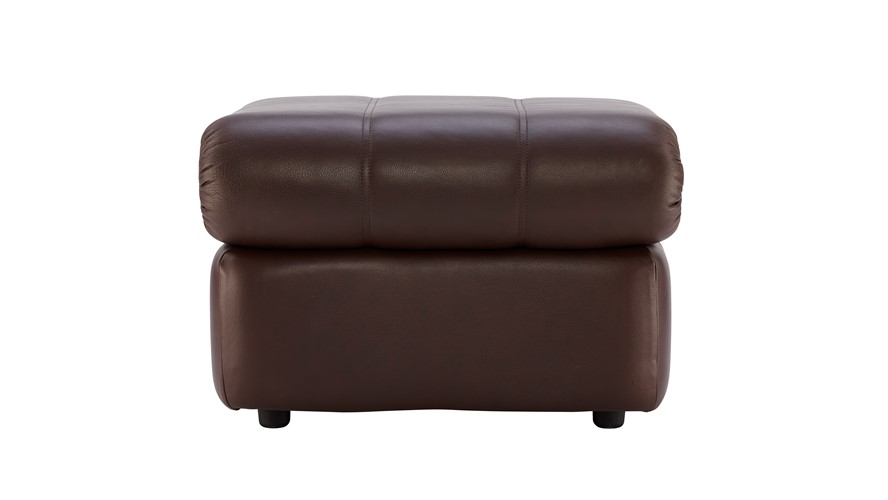 G Plan Chloe Leather Footstool