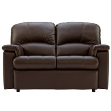 G Plan Chloe Leather Small 2 Seater Sofa