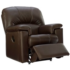 G Plan Chloe Leather Small Recliner Chair