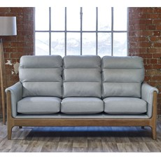 Cintique Lydia Leather 3 Seater Sofa