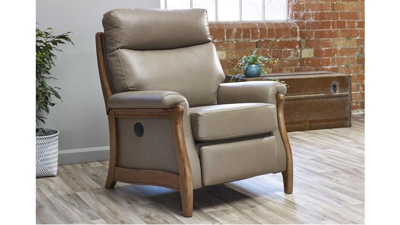 Cintique Richmond Leather Recliner Armchair