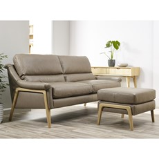 Cintique Scarlett Leather Large Sofa