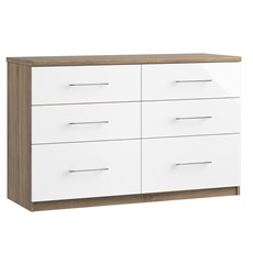 Catania 6 Drawer Twin Chest