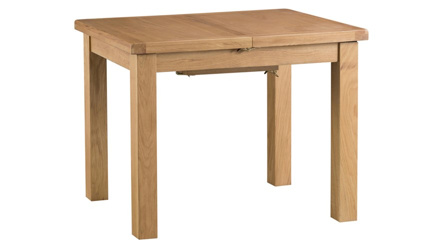 Ashbourne 100cm Butterfly Extending Dining Table