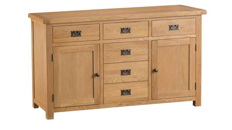 Ashbourne 2 Door 6 Drawer Sibeboard