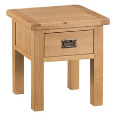 Ashbourne Lamp Table with Drawer