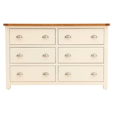 Columbia 6 Drawer Wide Chest