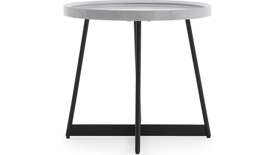 Curtis Grey Lamp Table