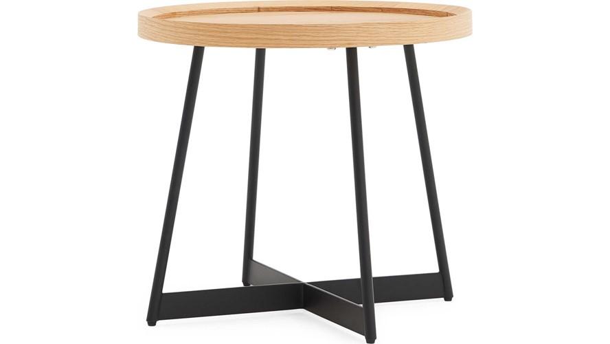Curtis Oak Lamp Table