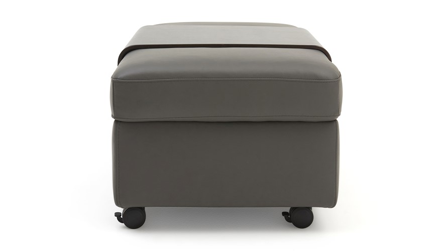 Stressless Wave Double Ottoman With Table