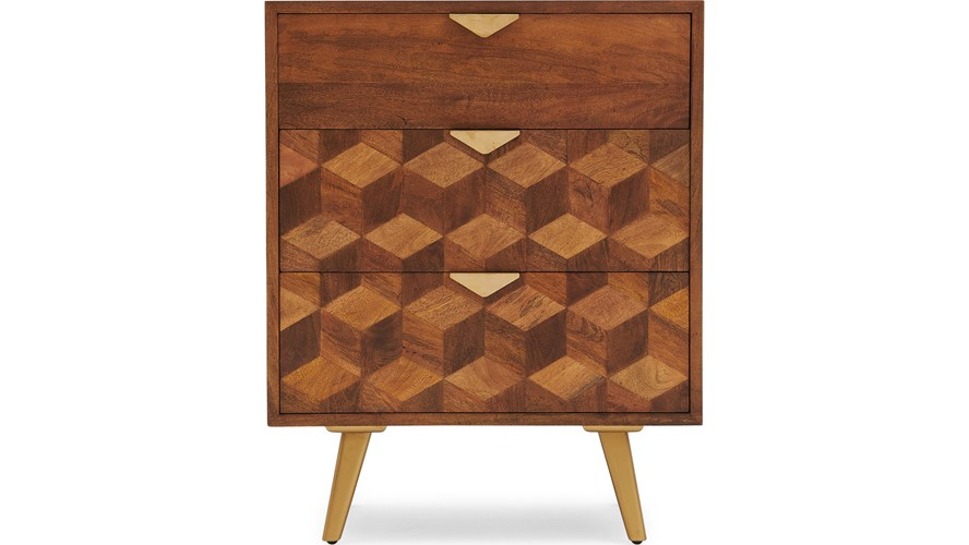 Debonaire 3 Drawer Chest