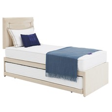 Deluxe Guest Bed Open Coil Base & Pocket Sprung Mattress