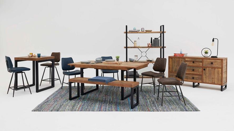 Detroit Lamp Table