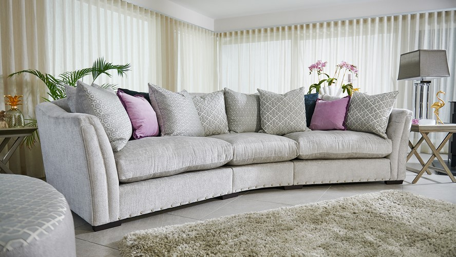 Dynasty Large Curved Sofa