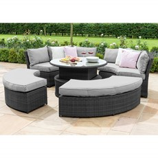 Eden Flatweave Lifestyle Suite with Rising Table