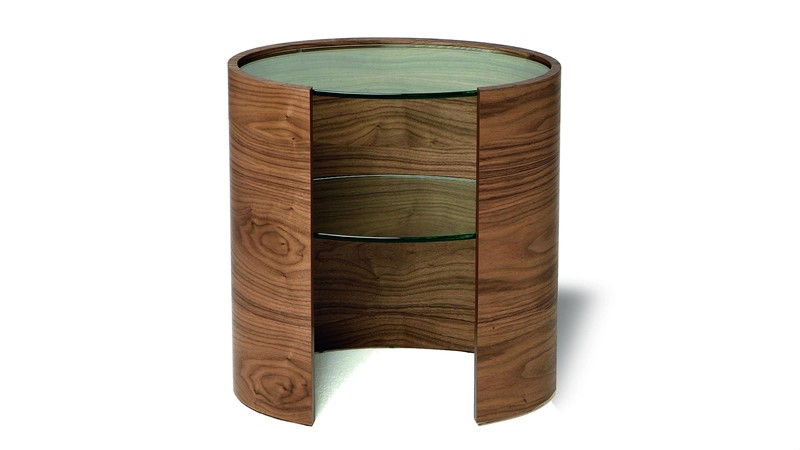 Tom Schneider Ellipse  Lamp Table