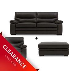 Ex Display Jura 2.5 Seater Sofa, Chair & Large Stool Set