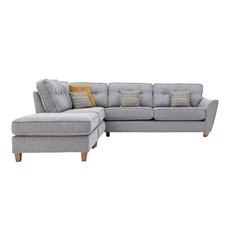 Freya Corner Sofa Left Chaise with stool