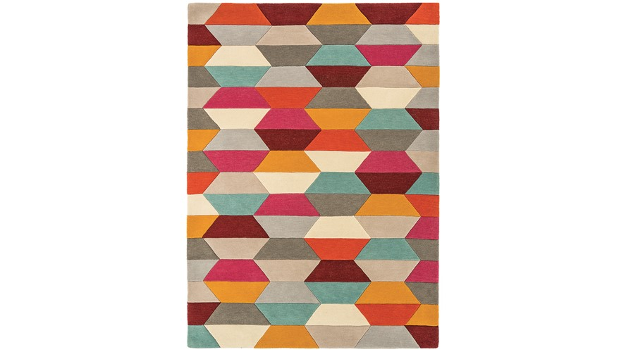 Funk Rug - Honeycomb Bright