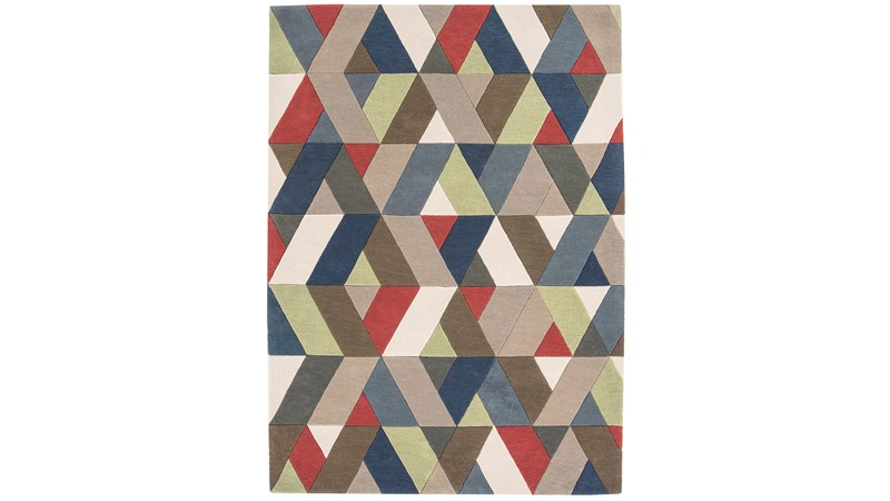 Funk Rug - Chevron Multi