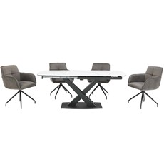 Gabriel Table & 4 Carmela Chairs