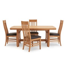 Gloucester Extending Dining Table & 4 Chairs