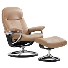 Stressless Garda Chair & Stool - Medium