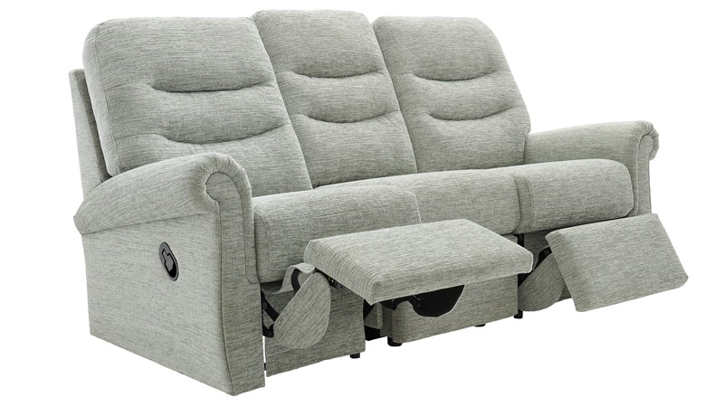 G Plan Holmes 3 Seater Recliner Sofa