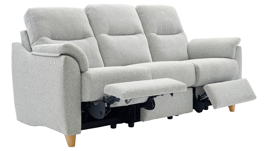 G Plan Spencer 3 Seater Power Recliner Sofa