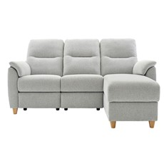 G Plan Spencer Corner Sofa - Chaise Storage Right