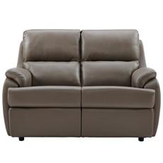 G Plan Hartford Leather 2 Seater Sofa