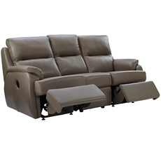 G Plan Hartford Leather 3 Seater Recliner Sofa