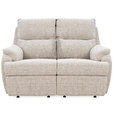 G Plan Hartford Fabric 2 Seater Recliner Sofa