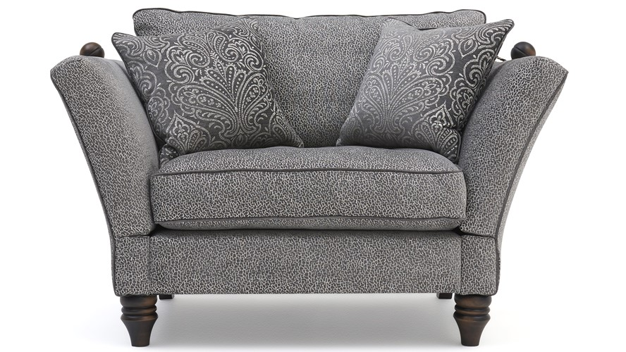 Haskell Knole Snuggler Chair