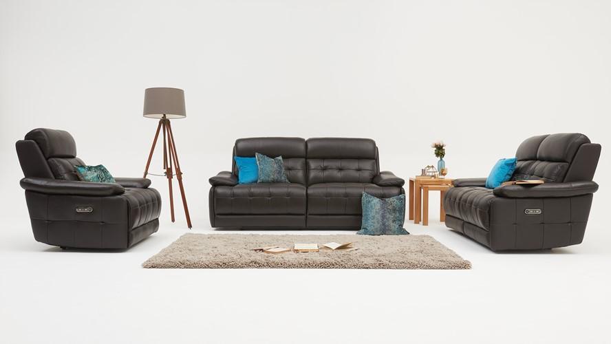 Heston 2 Seater Recliner Sofa