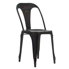 Hyatt Cafe Chair - Vintage Black