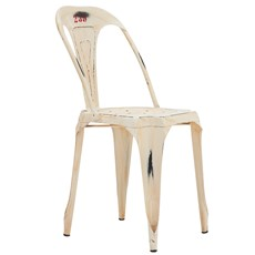 Hyatt Cafe Chair - Vintage Off White