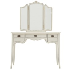 Anais Dressing Table with Triple Mirror