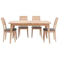 Jensen Extending Table & 4 Chairs