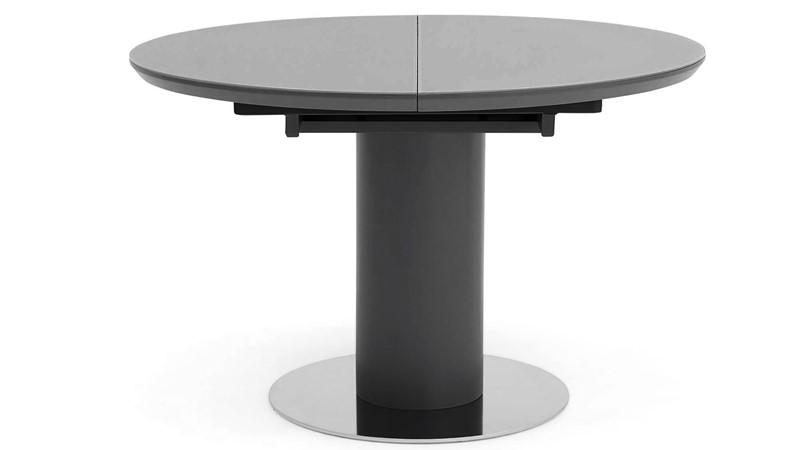 Kasper Kasper Round Extending Dining Table - Grey