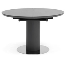Kasper Round Extending Dining Table - Grey