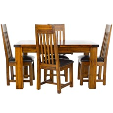 Kember Extending Dining Table & 4 Chairs