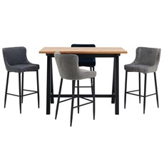 Kobe Bar Table & Petra Stools