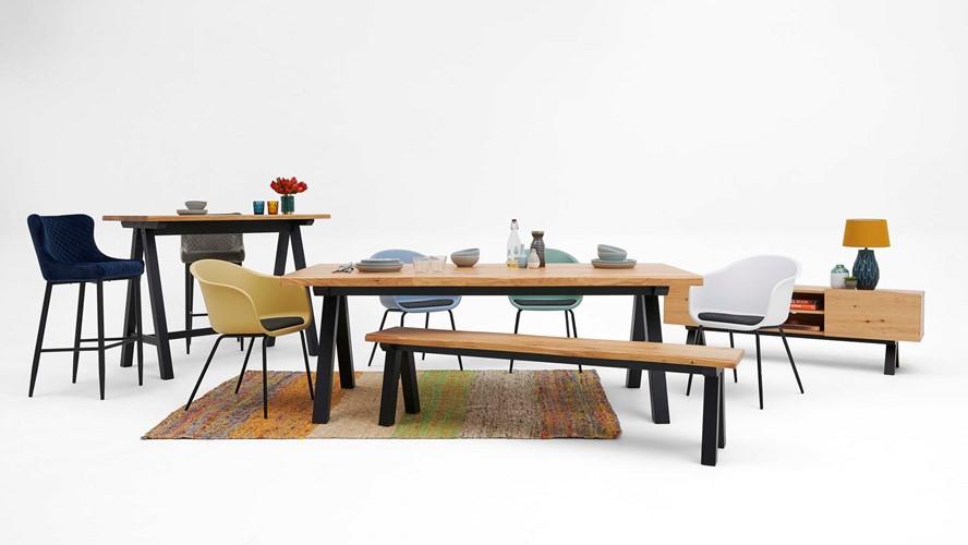 Kobe Bar Table & Petra Stools
