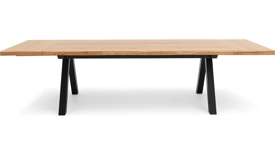 Kobe Dining Table, Extension Leaves, Bench & 3 Chair set