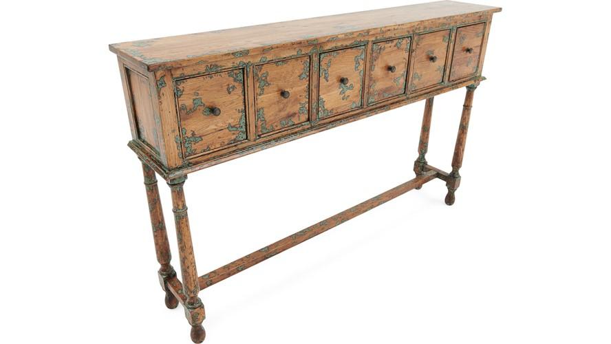 Koro 6 Drawer Hall Table