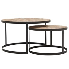 Koro Set of 2 Side Tables