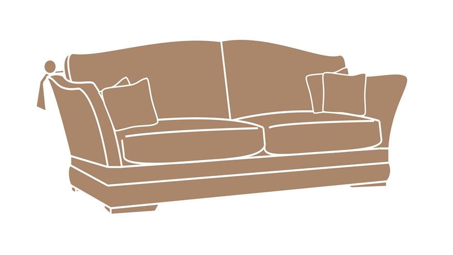 Landsdowne Small Knole Sofa